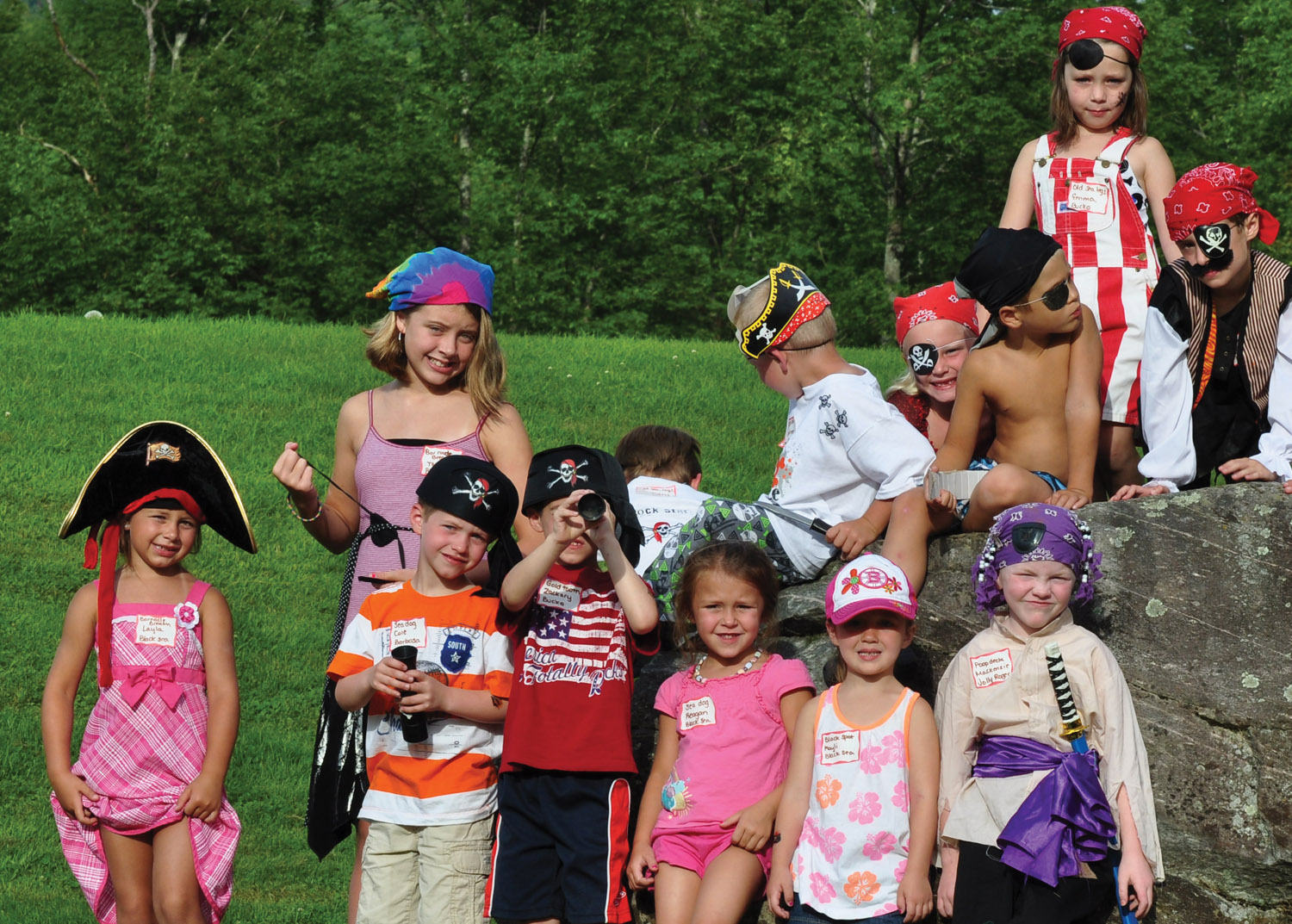 Pirate Weekend at The Lantern Resort Campground & Motel - Jefferson, NH